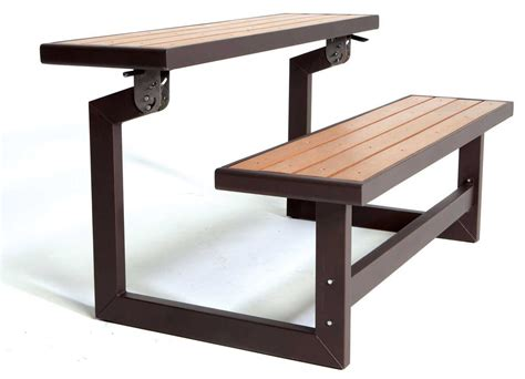 convertible bench table lifetime convertible bench table 1 9to5toys