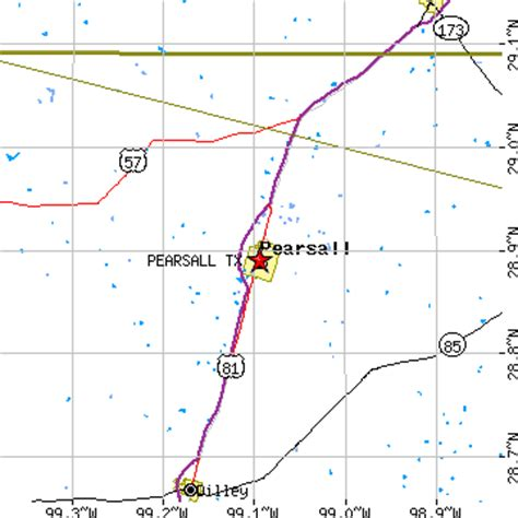 pearsall texas map pearsall texas tx population data races housing economy