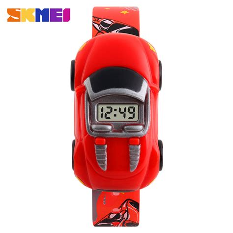 Jackly Reparasi Jam Tangan 13 In 1 New fashion creative children skmei brand car digital watches for boys