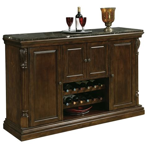 bar console howard miller niagara home bar console 693006