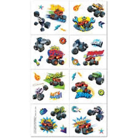 tattoo kit afterpay blaze and the monster machines temporary tattoos x 8