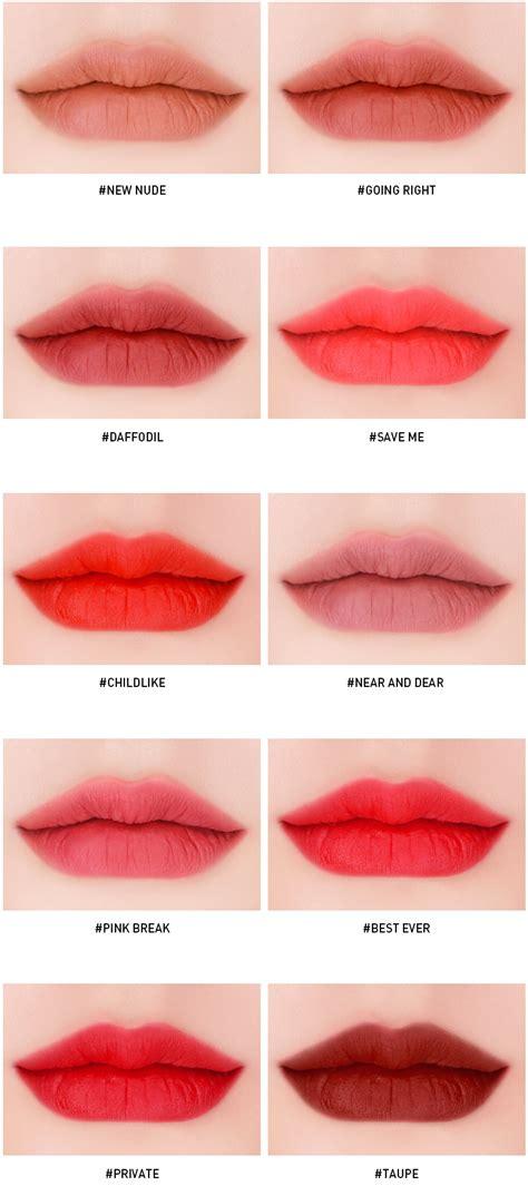 3ce Lip Tint Lip Tint Lipstick 3 concept stylenanda velvet lip tint 2018 new 12 colors avail ebay