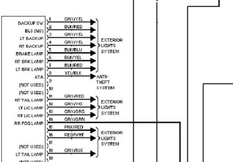 mercedes light wiring diagram free printable
