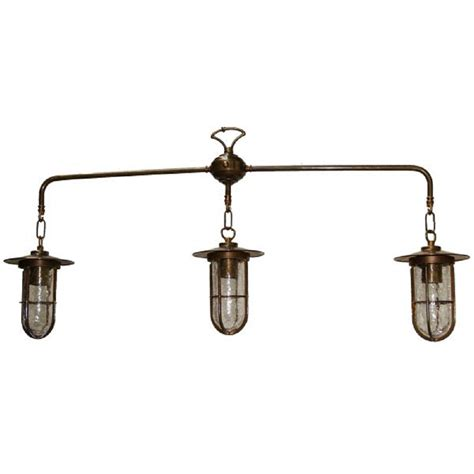 Industrial Style Rustic Suspended Ceiling Pendant With 3 Kitchen Island Lighting Pendants