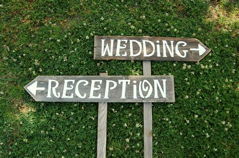Handmade Wedding Signs - custom wedding signs in brides magazine by