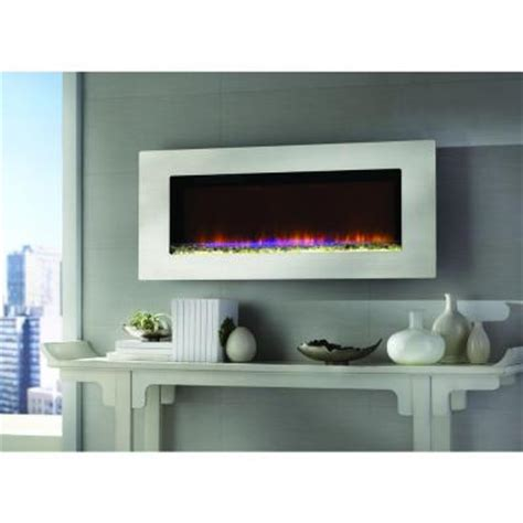 Home Depot Wall Fireplace by Home Decorators Collection Mirador 46 In Wall Mount