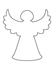 christmas tree angel pattern use the printable outline