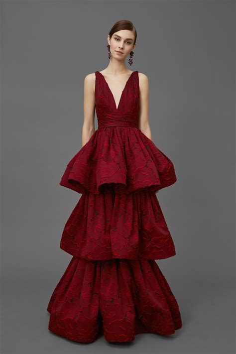 Catwalk To Carpet Nicky In Marchesa by Marchesa Pre Fall 2016 Collection Tom Lorenzo