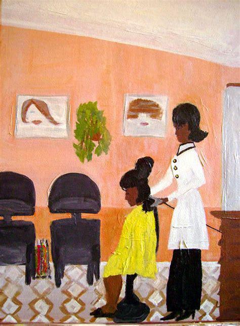 black people hair salons in ct razz painting by celia hodges