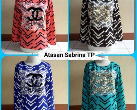 Atasan Dress Sabrina Anak Murah bandarbaju bisnis grosir baju murah di bandung