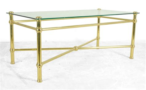 brass coffee table with glass top antiques atlas brass coffee table with glass top