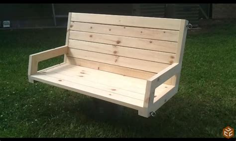porch swing plans  build  home
