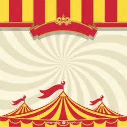 circus ticket template free circus tent free template vector free