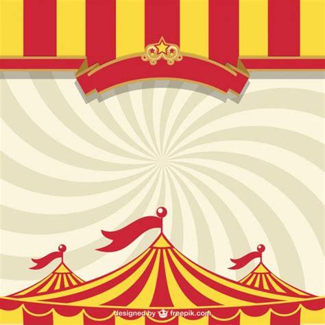 Tendone Da Circo Template Gratuiti Scaricare Vettori Gratis Circus Poster Template Free