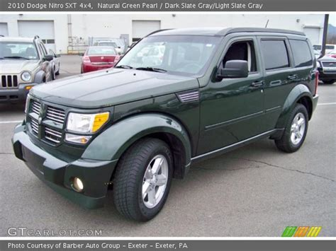 automotive service manuals 2010 dodge nitro interior lighting natural green pearl 2010 dodge nitro sxt 4x4 dark slate gray light slate gray interior