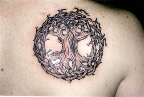 Celtic Tree Life Tattoo Celtic Tree Tattoos Designs 3