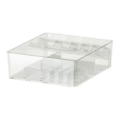 ikea organizer godmorgon box with compartments ikea