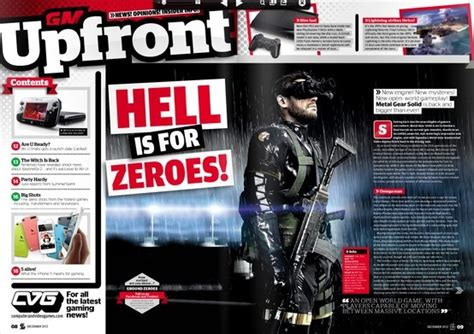 game magazine layout like the heading treatments and the use of the circles as
