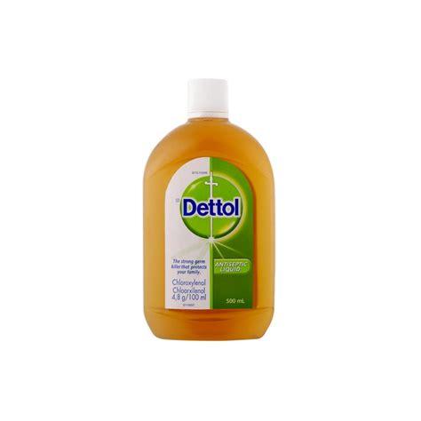 Detol Antiseptik dettol antiseptic liquid 500ml