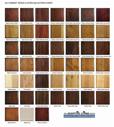 wood wood stain colors