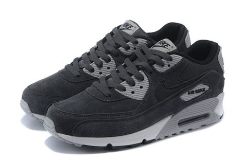 Nike Airmax 90 Cewe Running 37 40 mens nike air max 90 leather anthracite black wolf grey