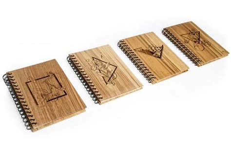 Wooden Notebook Starwars wook wooden smart notebook and planner gadgetsin