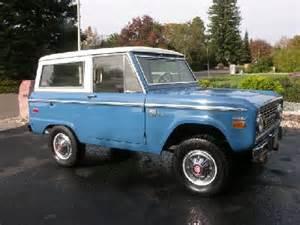 1966 1977 Ford Broncos For Sale Ford Bronco Restoration 1966 1977 Broncos For Sale Autos