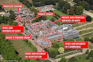 who lives in kensington palace princess eugenie s wedding plans put on hold amid d row