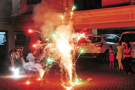 Of Noise Noise Pollution During Diwali Was Less Compared With Last