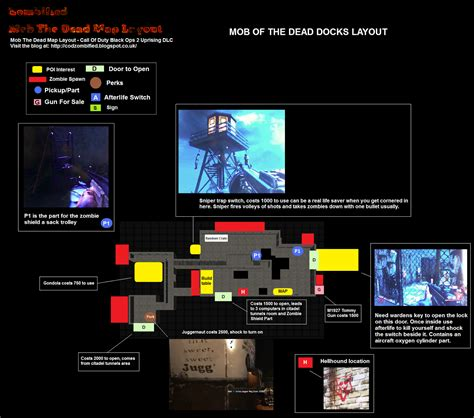 mob of the dead map pack zombified call of duty map layouts secrets