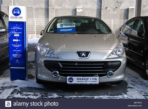 peugeot dealer sale car peugeot 307 cc for sale peugeot dealer in poland