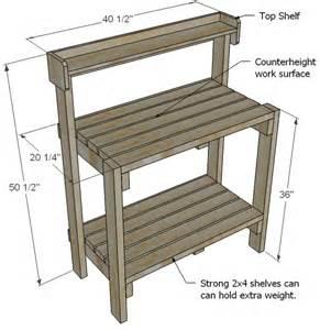 pdf diy how to build a simple potting bench hip