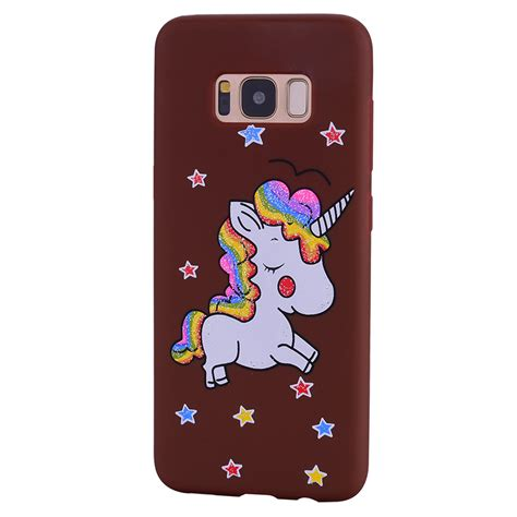 Unicorn For Samsung Galaxy S6 Edge unicorn silicone soft tpu phone cover for samsung