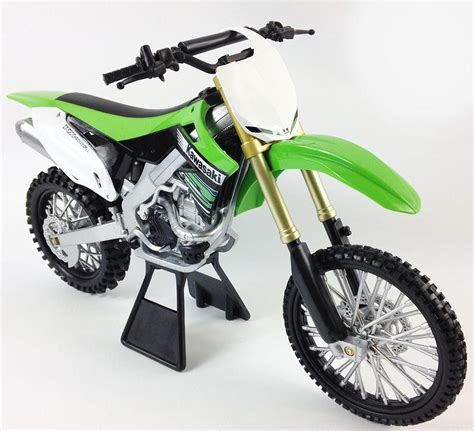 1 6 Kawasaki Kx450f Diecast Model Licensed Die Cast Dirt