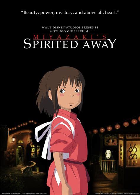 film anime terbaik spirited away english spirited away poster by behruz on deviantart