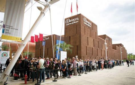 expo milan 2015 le pavillon marocain cartonne avec 2 5 - Pavillon Expo
