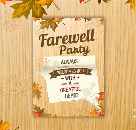 free farewell invitation card template 34 free invitation templates wedding birthday dinner