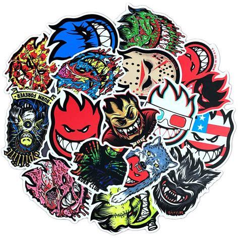 pcslot horrors spitfire cartoon graffiti anime stickers
