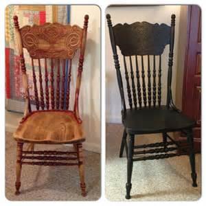 i painted press back chair paint it new paint it
