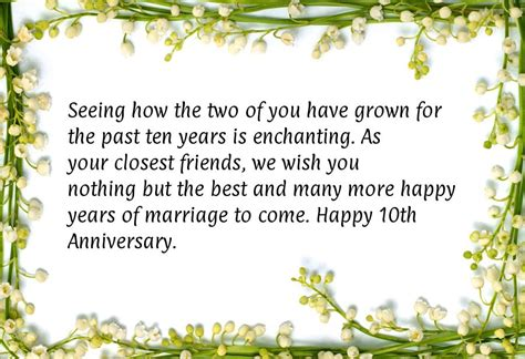 Wedding Anniversary Year 10 by 45 Year Wedding Anniversary Quotes Quotesgram