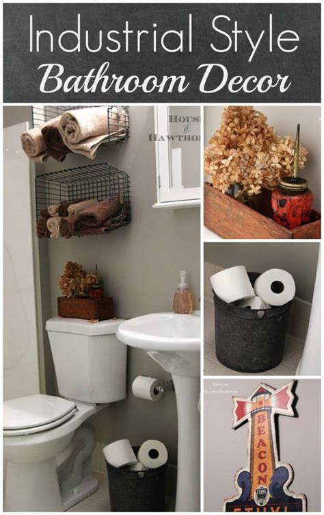 Industrial style child s bathroom house of hawthornes