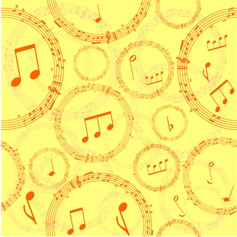 music notes pattern free music note pattern free vector in adobe illustrator ai
