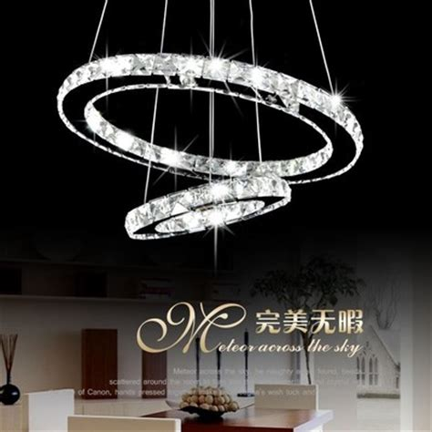 Circle Crystal Chandelier Chandelier Modern Circle Led Ring