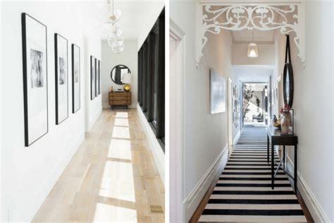 decorating narrow hallway easier