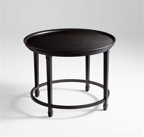 Black Foyer Table Designer Black Foyer Table By Cyan Design