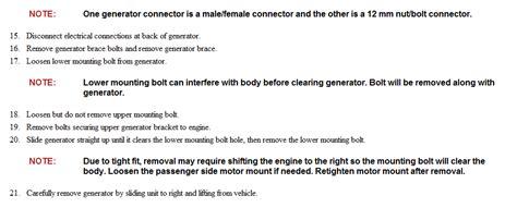 Kia Sedona Alternator Removal How To Remove 05 Kia Sedona Alternator