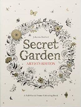 secret garden coloring book south africa secret garden artist s edition a pull out and frame