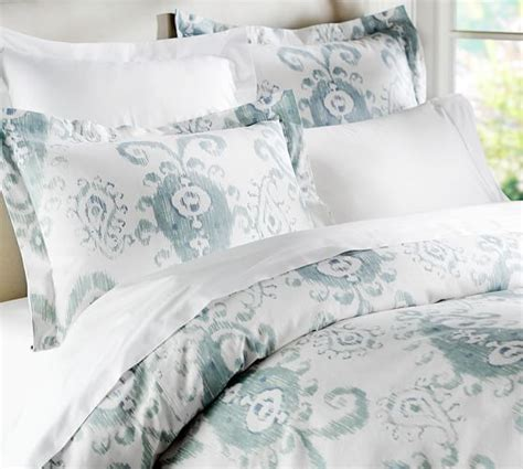 Ikat Quilt Cover by Ikat Duvet Cover Sham Pottery Barn