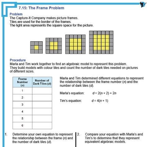 pattern rule word problems grade 6 math worksheets patterning grade 6 math