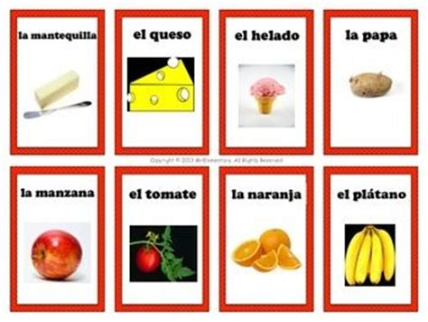 spanish english flashcards printable set of spanish and activities on pinterest